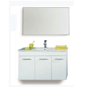 תמונה ראשית ארון אמבטיה + כיור ומראה מרחפת 60 ס_מ