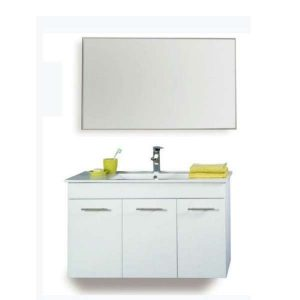 תמונה ראשית ארון אמבטיה + כיור ומראה מרחפת 80 ס_מ