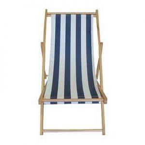 תמונה ראשית כיסא חוף מעץ - כמו של פעם