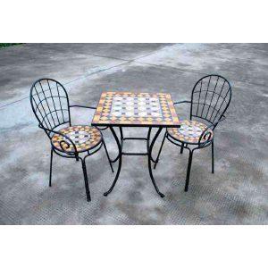תמונה ראשית כיסא פסיפס עם ידיות (1)