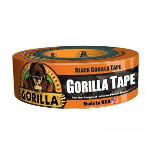 תמונה ראשית סרט הדבקה חבלה גורילה שחור סופר חזק Gorilla Tape 48mmX11m