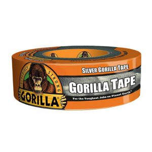 תמונה ראשית סרט הדבקה חבלה כסוף גורילה סופר חזק Gorilla Tape 48mmX32m