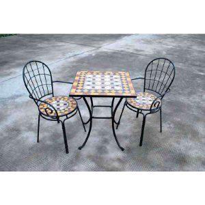 שולחן פסיפס מרובע - AVIGAIL אביגיל
