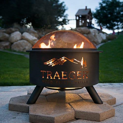 תמונה 4  מעשנת בשר Traeger דגם - FirePit