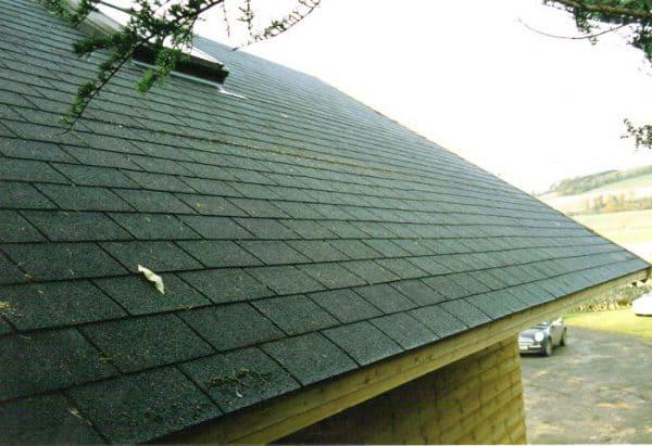 תמונה 2  גג דגם - רעפי שינגלס