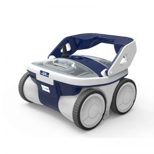 תמונה ראשית רובוט לניקוי בריכה שמנקה את התחתית והדפנות aqwabot סער