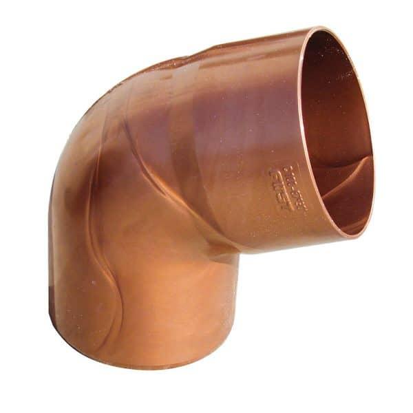 תמונה ראשית זוית לצינור 90 מעלות PVC