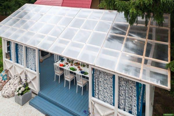 תמונה 3  גג דגם - פוליגל