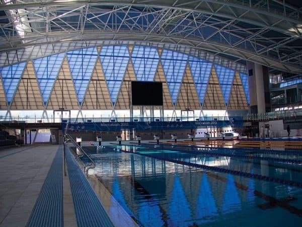 תמונה 2  סנפל דגם - מערכת קירוי אדריכלית מפוליקרבונט דופן - כפול