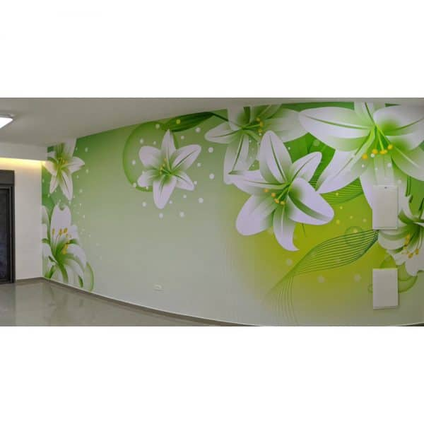 פרחים ירוק 2 - סלון