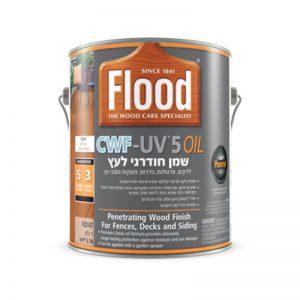 תמונה ראשית שמן חודרני לעץ - SUNDECK סאן דק - דגם CWF UV 5Oil