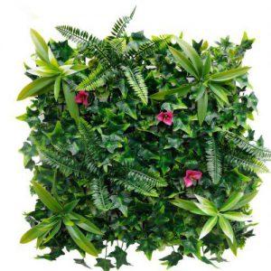קיר צמחיה מלאכותי - HOLLY הולי - יער שופע