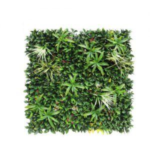 קיר צמחיה מלאכותי - HOLLY הולי - ירק מעורב